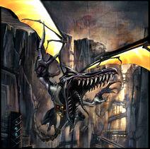 Meta Ridley - Concept art