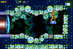 MZM-101-Samus discovers a secret passage to Ridley
