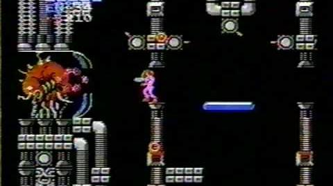 Metroid - Final Boss Battle (Mother Brain)