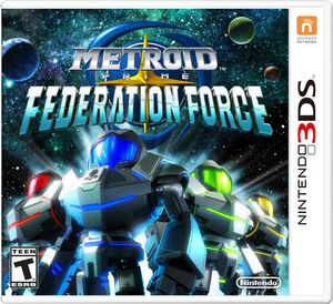 Metroid Prine Federation Force (NA) boxart