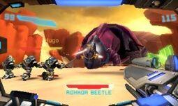 Escarabajo Rohkor MPFF