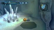 Ice bridge cavern - Morph Ball hole