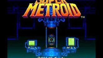 Super Metroid - Title Screen Theme