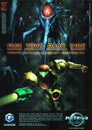 Metroid Prime 2 German ad