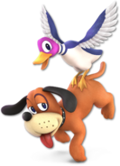 SSB Ultimate Duck Hunt render