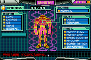 Gravity Suit without Fully Powered Suit Samus Screen