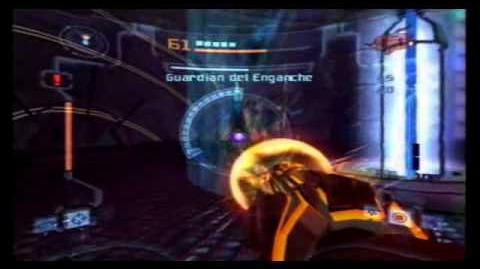 Metroid Prime 2 Echoes - Grapple Guardian Guardian del Enganche