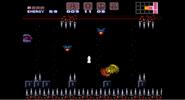 Samus usando el salto espacial