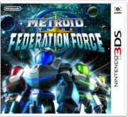 Metroid Prime Federation Force portada