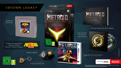 Metroid Samus Returns edición legacy