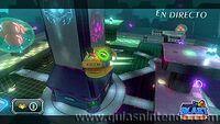Metroides y Nave en Metroid Blast