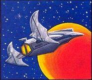 Zebes desde el espacio