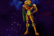 Helmetless Samus Fusion