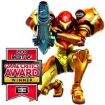 Samus Returns Game Critics Award Winner
