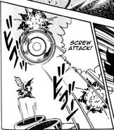 Screw Attack Geega Air Hole amiken Ryu