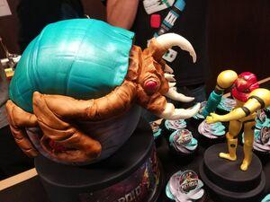Ander Amo del Ser Alpha Metroid and Samus cake closeup
