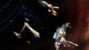 Leviathan and fleet enter wormhole