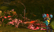 Samus Returns Queen Metroid dies