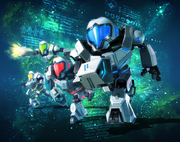Metroid Prime Federation Force Artwork 01