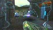 Metroide saltón en norion