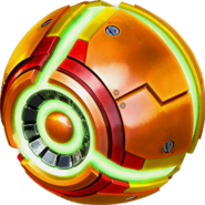 Metroid Samus Returns Morph Ball artwork