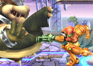 Samus Side Smash SSBB