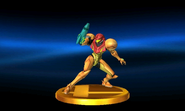 Varia Suit Trophy SSB3DS