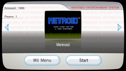 Metroid Consola Virtual Wii captura