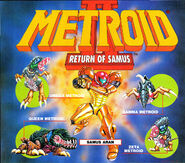 Samus and Metroids