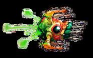 Gawron de perfil artwork MSR