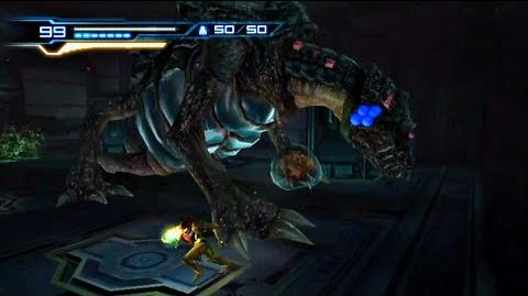 Metroid Other M - Queen Metroid