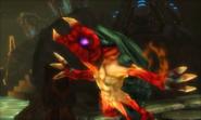 Metroid Samus Returns Arachnus Fall of Arachnus (Cutscene)