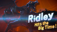 A Piercing Screech Ridley Hits the Big Time!