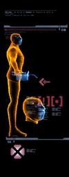 Mecánico escáner izquierda mp3