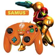 Wired Fight Pad Samus