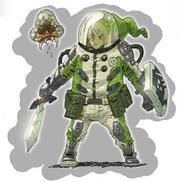 BOTW Metroid Concept Art