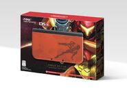 Samus Edition 3DS XL box