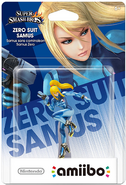 Zamus amiibo packaging