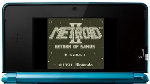メトロイドⅡ RETURN OF SAMUS プレイ映像 (3DS VC)