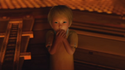 Child Samus in parka