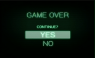 Game Over Screen MOM