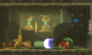 Metroid Samus Returns Arachnus Claw Shockwave (Area 2)