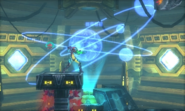 Metroid Samus Returns Area 7 Observatory - Baby & Samus (Chozo Laboratory)