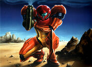 MSR Artbook Return of Samus