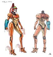 Bayonetta 2 Samus suit concept (beta)