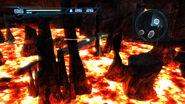 Grapple Beam fire Lava Lake Pyrosphere HD