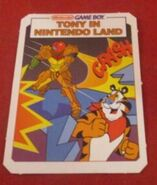 Tony in Nintendo Land card