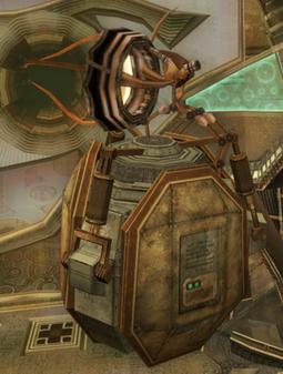 Robot de Transporte Contenedor MP3
