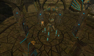 Samus in artifact temple 2 dolphin hd