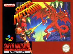 Super Metroid - Boxart PAL